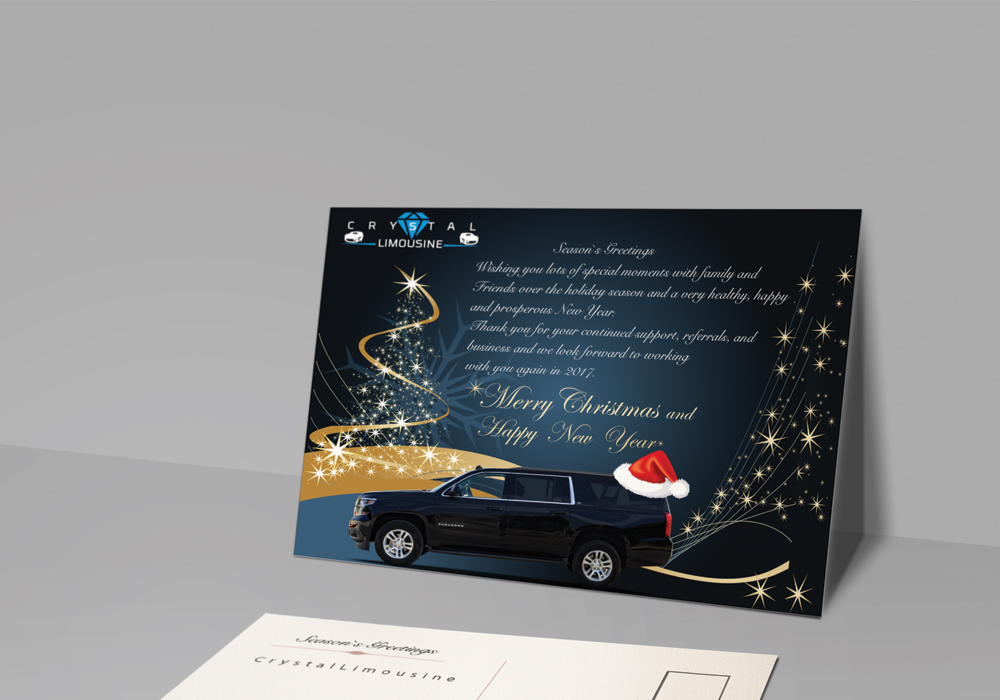 Crystal-Limousine-Greeting-card